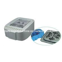 Electroestimulación de lujo Microcorriente Pérdida de peso Drenaje linfático Masajeador de cuidado de los senos Relax