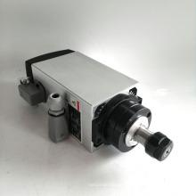Motor refrigerado por aire cuadrado del eje de 4kw ER20 220V para el trabajo de madera