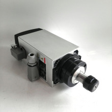 3KW air cooling spindle motor for cnc milling with square type