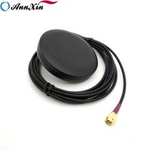 Antenne GSM ronde de gain élevé 2dBi avec le mâle de Sma de câble de 3m