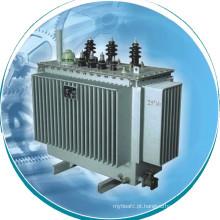 Transformador de distribuição de transformador de potência totalmente vedado