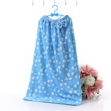 Bathroom Spa Microfiber Bath Skirt Women's Robe