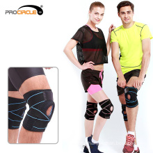 Athletics Protection Compression Adjustable Knee Support Brace