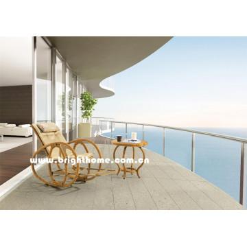 New Design Rocking Wicker Outdoor Lounge Bp-6016