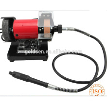 "75mm 3"" 150W Electric High Speed Mini Bench Grinder with flexible shaft"