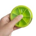 7Day Round Pill Box Weekly Medicine Storage Organizer