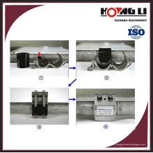 Abrazadera de reparación de tubería flexible de PVC RCD para suministro de agua