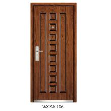 Porta de madeira de aço (WX-SW-106)