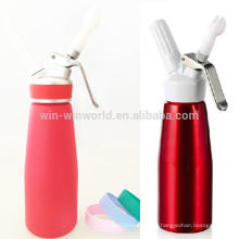 Whipped Ice Cream Pump Dispenser With Plastic Lid