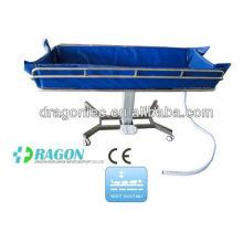 Equipamento do hospital da cama de chuveiro do trole de chuveiro do hospital de DW-HE018 na porcelana