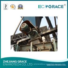 Sistema de recolección de polvo industrial, filtro Baghouse