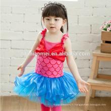 2016 bébé fille robe de performance sirène alibaba robe de mariée princesse