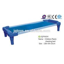 JQP4604 Platz sparen Blue Kindergarten Plastikmöbel Kinderbett