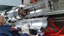 High Output Wood Plastic Composite Production Line With Aut