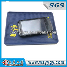 Hot sell pvc car cell phone mats for promotion
