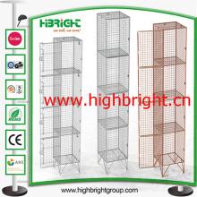 Casiers de fil d'acier solide Manfuactuer chinois vente chaude