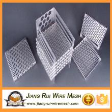 Perfurador quadrado de chapa metálica / painéis decorativos perfurados de metal