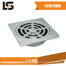 OEM China Square Stamping Casting Floor Drain Bathroom Accessories