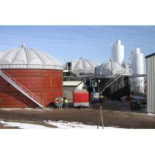 Tanque de FRP no local para ácido orgânico