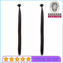 """8""""-30"""" Keratin Flat Tip Hair Extensions Best Virgin Remy Human Hair Blonde Straight Thick End Double Drawn"""