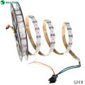Le pixel de rétroéclairage numérique de dc5v de bande de rgb d'intense luminosité a mené la lumière