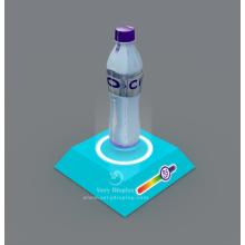 Mineral Water bottle levitation display