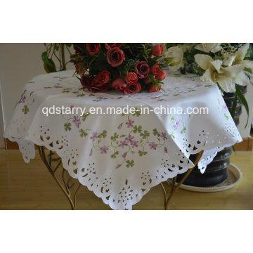 Stock Lucky Leaf Table Cloth