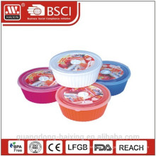Round Microwave Food Container(2.55L) Plastic Products