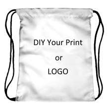 Bolso con cordón de impresión personalizado