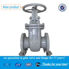 rising stem cast steel gate valve for water pipe