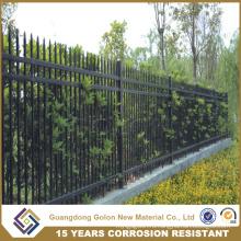 Стальная панель с порошковым покрытием, модульная металлическая ограда