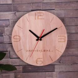 Modern Creative Wooden Decoration Wall Clock