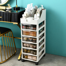 Plastic drawer type storage cabinet bedroom drawer cabinet