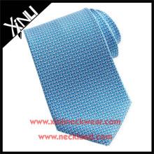 Azo Free Men New Fashion Chinese Wholesale Silk Printed Anchor Necktie