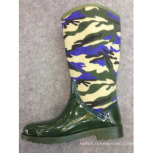 Новый дизайн дешевые мода женщины дождь сапоги дамы дождь загрузки д-685