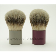 Cepillo de la escultura del pelo de la cabra de la alta calidad del cepillo del maquillaje de Kabuki