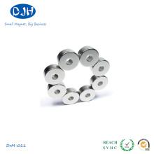 Ring Magnet Standard N35 Grade Temperatura máxima de trabalho. 80 graus