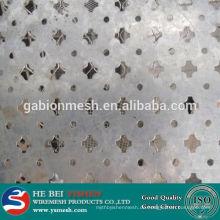 Heißer Verkauf rostfreier Stahl gelochte Blattplatte u. Stanzen ovales Loch perforiertes Metallineinander greifen