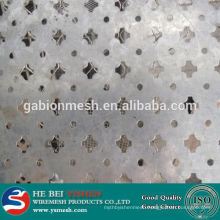 Hot sale stainless steel perforated sheet plate& punching oval hole perforated metal mesh