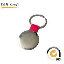 Heißer Verkauf Billig Werbe Schlüsselanhänger Leder Schlüsselanhänger (Y02098)
