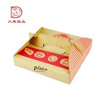 Professionnel personnalisé petit vide fabricant Italie boîtes à pizza pour l'expédition
