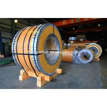 Baosteel moinho 430 classe aço inoxidável bobina BA e 2B acabamento preço no estoque