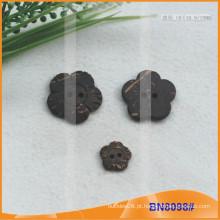 Botões naturais de coco para vestuário BN8098