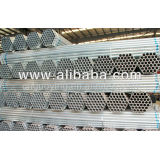 BS1387 ASTM A53 Hot Galvanized Steel Pipes