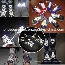 Cadarços reflexivos, cinta de sapatos, correias de sapatos
