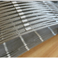 flexible cable stainless steel rope mesh