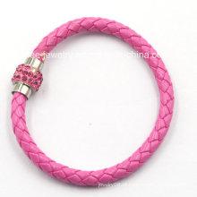 Alta qualidade moda jóias de aço inoxidável pulseira para decoração