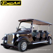 Camión clásico eléctrico barato de 8 asientos para la venta 48V