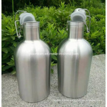 2016 Ss Double Wall Wine Growler for Keeping Cool