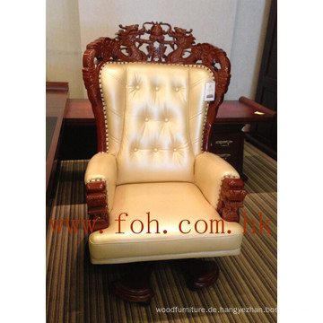 Chesterfield Leder Chinesischer Drache Carving Boss CEO Präsident Executive Office Chair (FOHA-08)